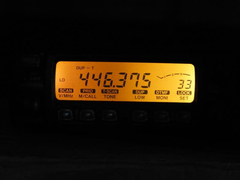Icom IC-207H - Display Repair